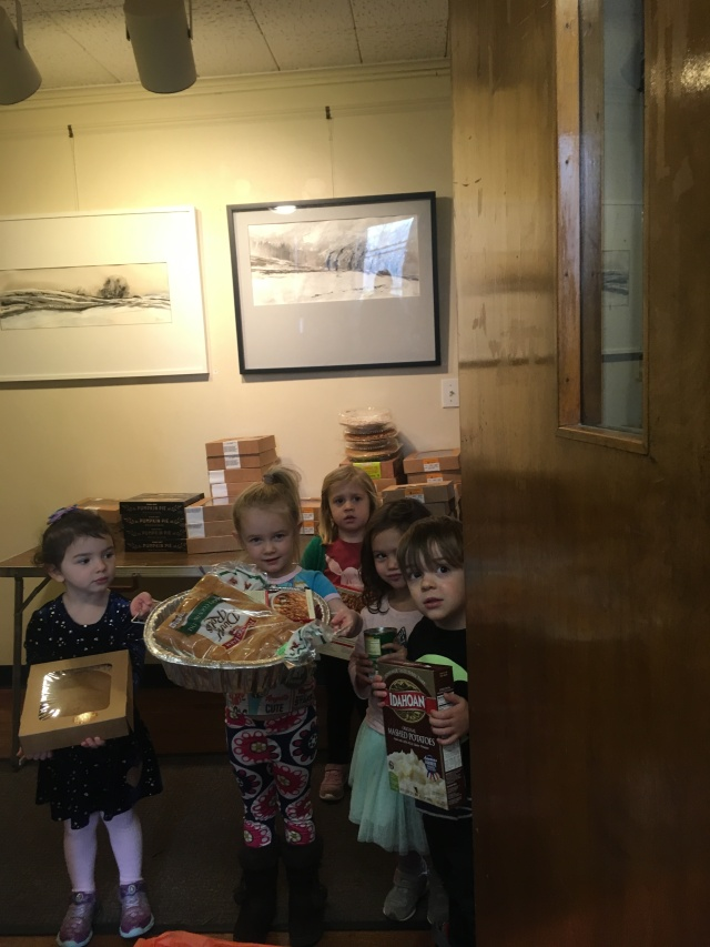 thanksgiving 2018 - three-year-olds